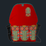 """Cute Retro Owl Messenger Bag<br><div class=""""desc"""">This cute groovy retro owl messenger bag features a funky,  detailed drawing of an groovy owl drawn in a folk art style.  This retro owl is the original art of Thaneeya McArdle.</div>"""