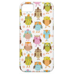 Cute Retro Owl Pattern iPhone Case iPhone 5 Covers
