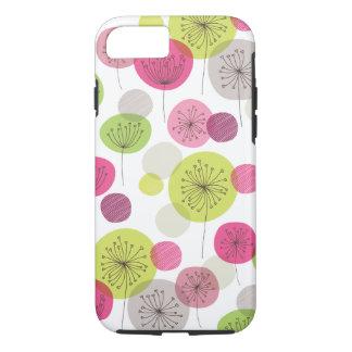 Cute retro tree flower pattern design iPhone 7 cas iPhone 8/7 Case