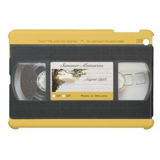 Cute Retro Video Cassette Effect on iPad Mini Case