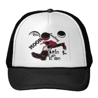 Cute retro vintage Bring it On Moon Landing HoHoHo Mesh Hat