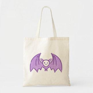 Cute Rhinestone Bat Tote Bag