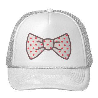 Cute Ribbon with Polka-dot Trucker Hat