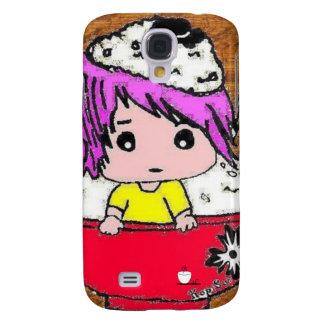 Cute Rice Boy Samsung Galaxy S4 Cover