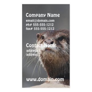 Cute River Otter Business Card