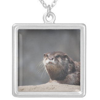 Cute River Otter Custom Necklace