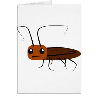 Cute Roach Card