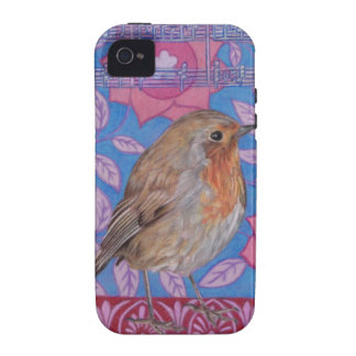Cute Robin Art iPhone 4/4S Case-Mate Vibe Case Case For The iPhone 4