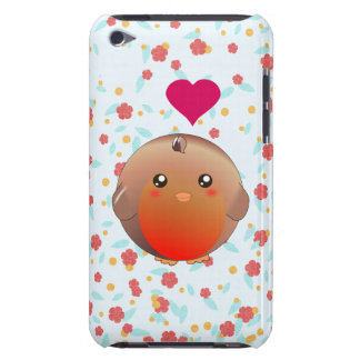 Cute Robin Bird Barely There iPod Cover
