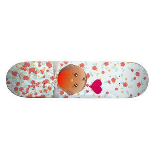 Cute Robin Bird Skateboard