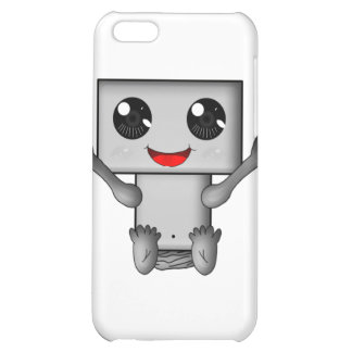 Cute Robot Case For iPhone 5C