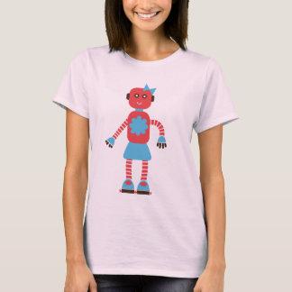Cute Robot Couple Shirt (Hers)