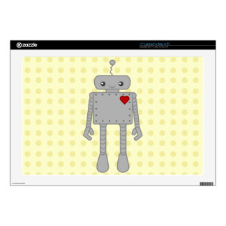 Cute Robot Decals For Laptops
