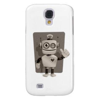 Cute Robot Galaxy S4 Case