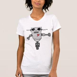 Cute Robot in Love T-shirt