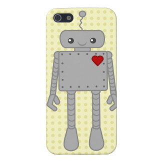 Cute Robot IPhone Case iPhone 5 Cases