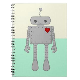 Cute Robot Notebook