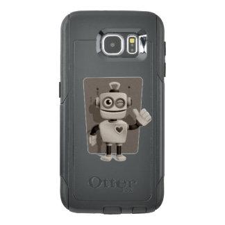 Cute Robot OtterBox Samsung Galaxy S6 Case