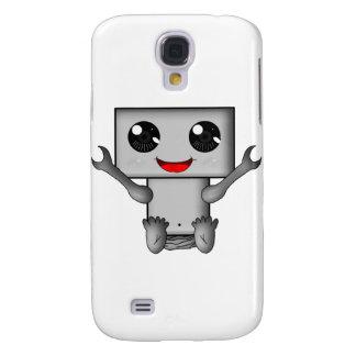 Cute Robot Samsung Galaxy S4 Cover
