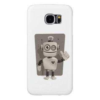 Cute Robot Samsung Galaxy S6 Case