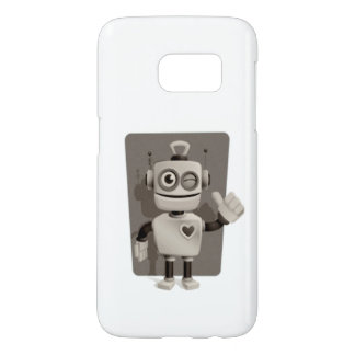 Cute Robot Samsung Galaxy S7 Case