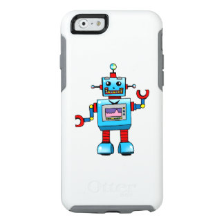 cute robot toy OtterBox iPhone 6/6s case