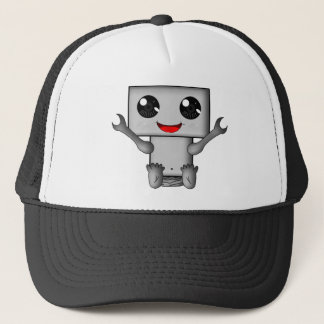Cute Robot Trucker Hat
