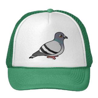 Cute Rock Pigeon Trucker Hats