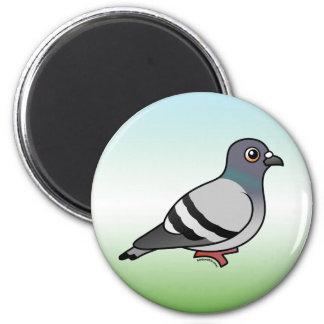 Cute Rock Pigeon Magnet