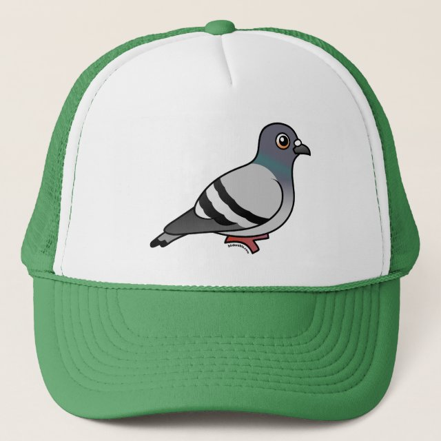 3c2d85da465 Customizable Rock Pigeon Trucker Hat