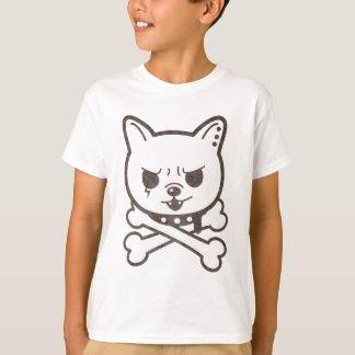 Cute Rocker Puppy Skull T-Shirt