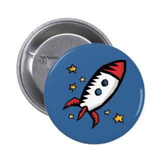 Cute Rocket Buttons