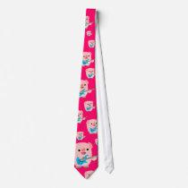 Cute Rockin' Cartoon  Pig Tie