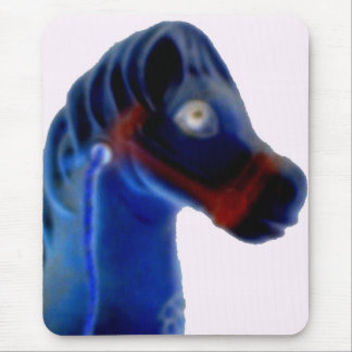 Cute Rocking Horse Mouse Pad