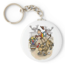 Cute Rodeo Key Chain
