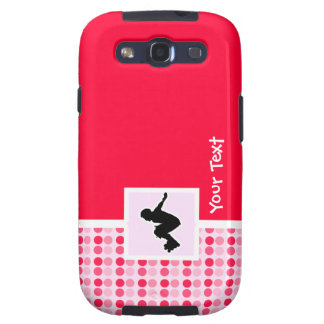 Cute Rollerblading Samsung Galaxy S3 Cover
