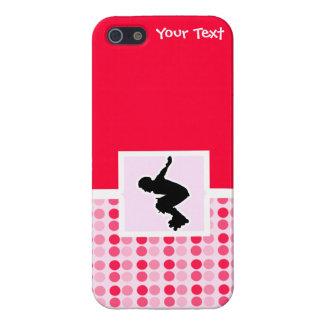 Cute Rollerblading iPhone 5 Case