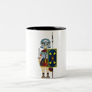 Cute Roman Gladiator Mug