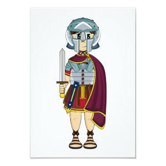 Cute Roman Gladiator RSVP Card