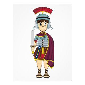 Cute Roman Soldier Flyer