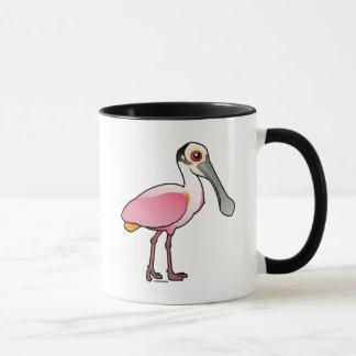 Cute Roseate Spoonbill Mug