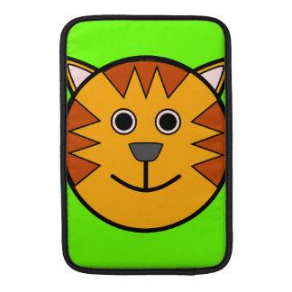Cute Round Cartoon Tiger MacBook Air Sleeve