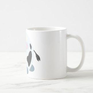 Cute Round Cow Coffee Mug
