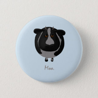 Cute Round Cow with Moo Button