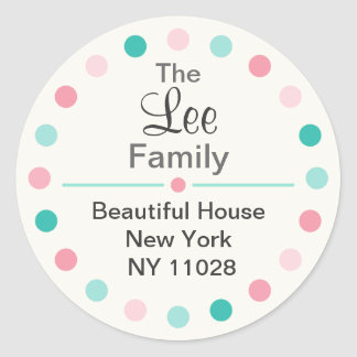 Cute Round Labels (sweet)