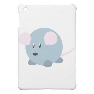 Cute Round Mouse iPad Mini Cases