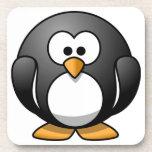 "Cute Round Penguin Designs Coaster<br><div class=""desc"">Created by Rhonda Albom based on edited public domain artwork.</div>"