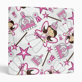 Cute Royal Princess Pattern Binder