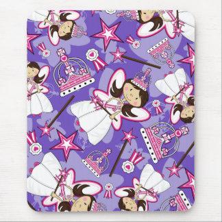 Cute Royal Princess Pattern Mousepad