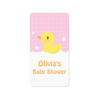 rubber ducky baby shower office products supplies zazzle